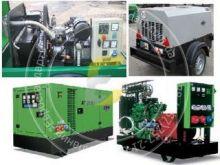 Дизельные  стационарные и передвижные генераторы  ATMOS 30 - 500 кВА,