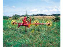 Грабли-ворошилки тракторные навесные 4 и 5 колес