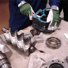 Ремонт и сервисное обслуживание компрессорного оборудования
