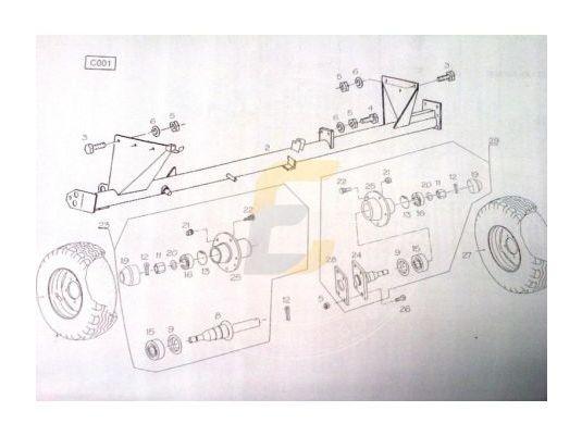 Подшипник ступицы колеса большой Фамарол Z511